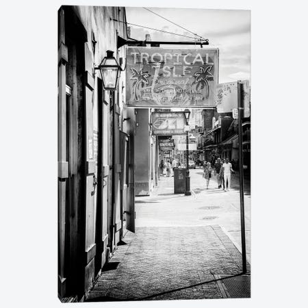 Black NOLA Series - Street Life New Orleans Canvas Print #PHD1964} by Philippe Hugonnard Canvas Art Print