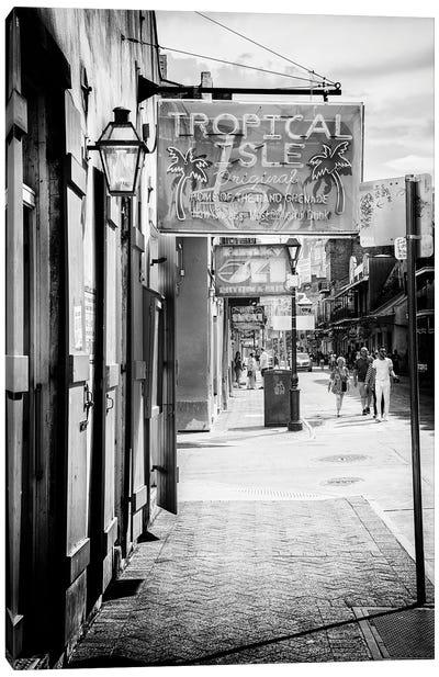 Black NOLA Series - Street Life New Orleans Canvas Art Print
