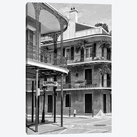 Black NOLA Series - General Store Canvas Print #PHD1970} by Philippe Hugonnard Canvas Print