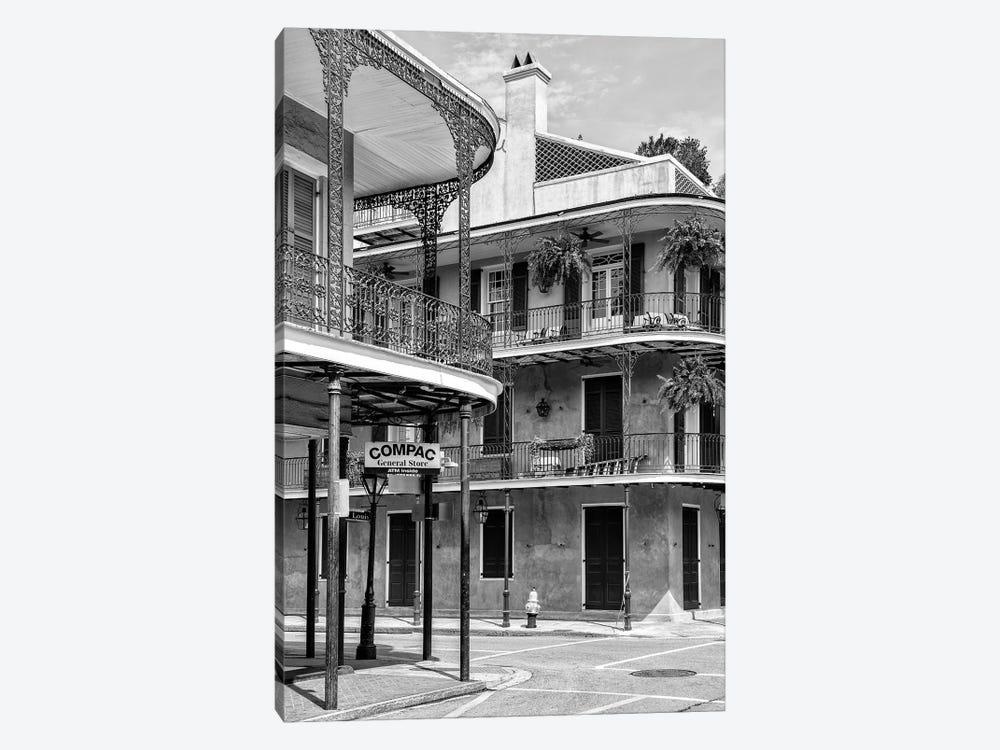 Black NOLA Series - General Store by Philippe Hugonnard 1-piece Canvas Art Print