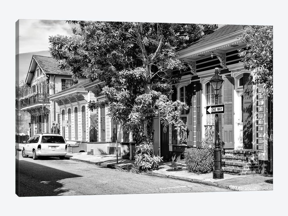 Black NOLA Series - New Orleans Street by Philippe Hugonnard 1-piece Canvas Artwork
