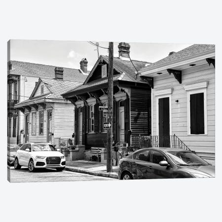 Black NOLA Series - Historic District Canvas Print #PHD1987} by Philippe Hugonnard Art Print