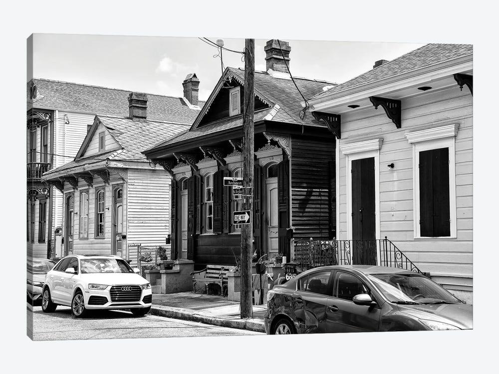 Black NOLA Series - Historic District by Philippe Hugonnard 1-piece Canvas Print
