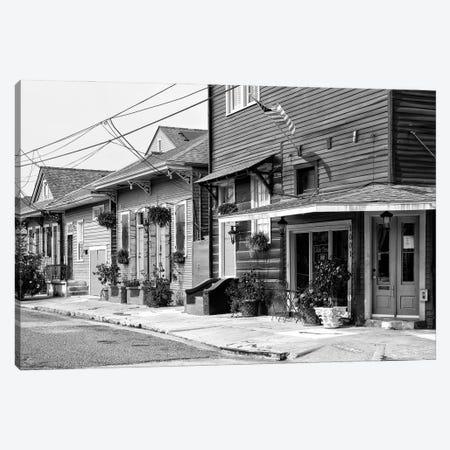 Black NOLA Series - Faubourg Marigny New Orleans Canvas Print #PHD1995} by Philippe Hugonnard Canvas Art