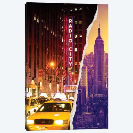 Manhattan Buildings Canvas Print #PHD19} by Philippe Hugonnard Art Print