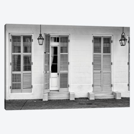 Black NOLA Series - Ajar Canvas Print #PHD2003} by Philippe Hugonnard Canvas Print