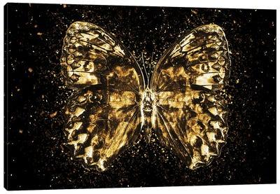 Golden - Butterfly II Canvas Art Print