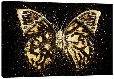 Golden - Butterfly III Canvas Art Print