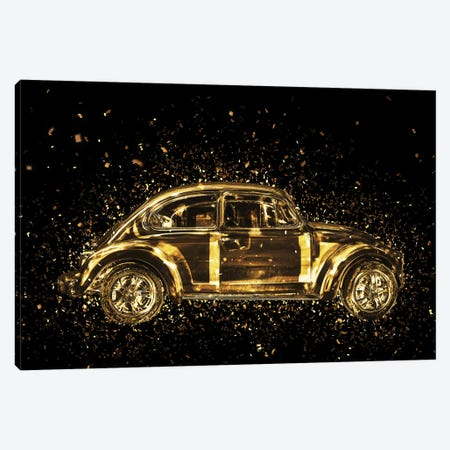 Golden - Classic VW Canvas Print #PHD2008} by Philippe Hugonnard Art Print