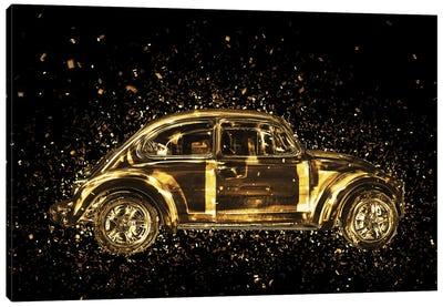 Golden - Classic VW Canvas Art Print