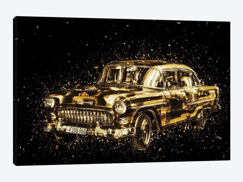 Golden - Classic Car by Philippe Hugonnard 1-piece Canvas Art Print