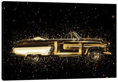Golden - Vintage Car Canvas Art Print