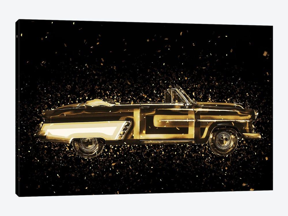 Golden - Vintage Car by Philippe Hugonnard 1-piece Canvas Art Print