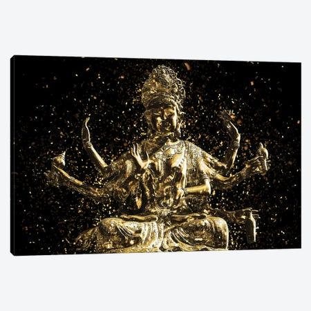 Golden - Shiva Canvas Print #PHD2011} by Philippe Hugonnard Canvas Wall Art