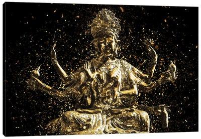 Golden - Shiva Canvas Art Print