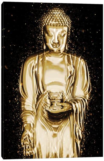 Golden - Serenity Canvas Art Print