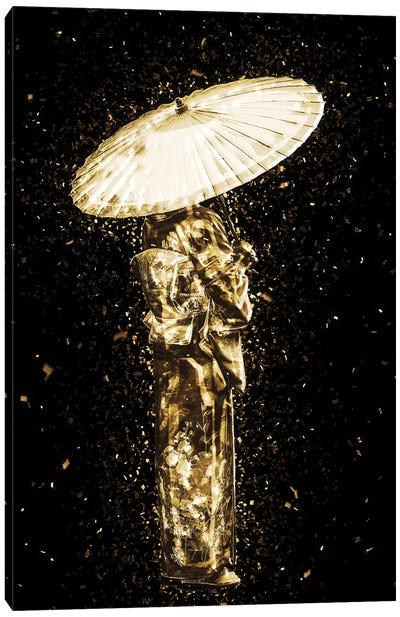 Golden - Geisha Canvas Art Print