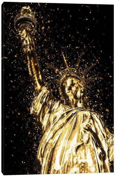 Golden - Liberty Canvas Art Print