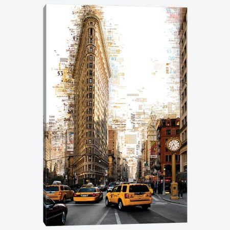Numbers Collection - Manhattan Flatiron Canvas Print #PHD2026} by Philippe Hugonnard Canvas Art