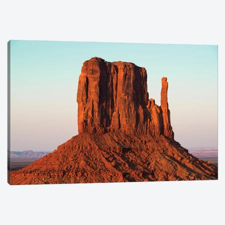 American West - Red Rock Canvas Print #PHD2066} by Philippe Hugonnard Canvas Wall Art