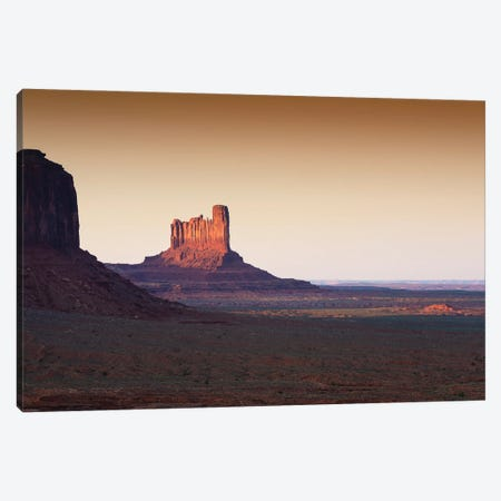 American West - Sunset Valley Canvas Print #PHD2071} by Philippe Hugonnard Canvas Art