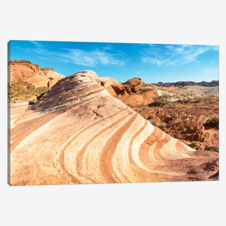 American West - The Wave Canvas Print #PHD2106} by Philippe Hugonnard Canvas Art Print