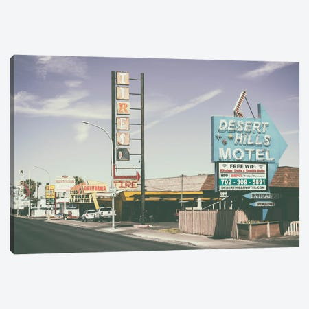 American West - Old Vegas Canvas Print #PHD2109} by Philippe Hugonnard Canvas Wall Art