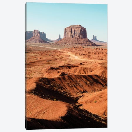 American West - Monument Valley Tribal Park I Canvas Print #PHD2117} by Philippe Hugonnard Canvas Art