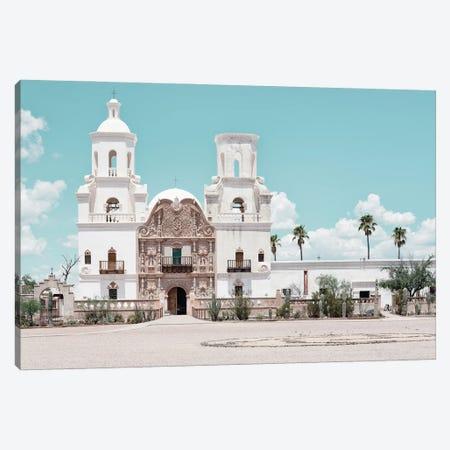 American West - Tucson Church Canvas Print #PHD2125} by Philippe Hugonnard Canvas Art Print