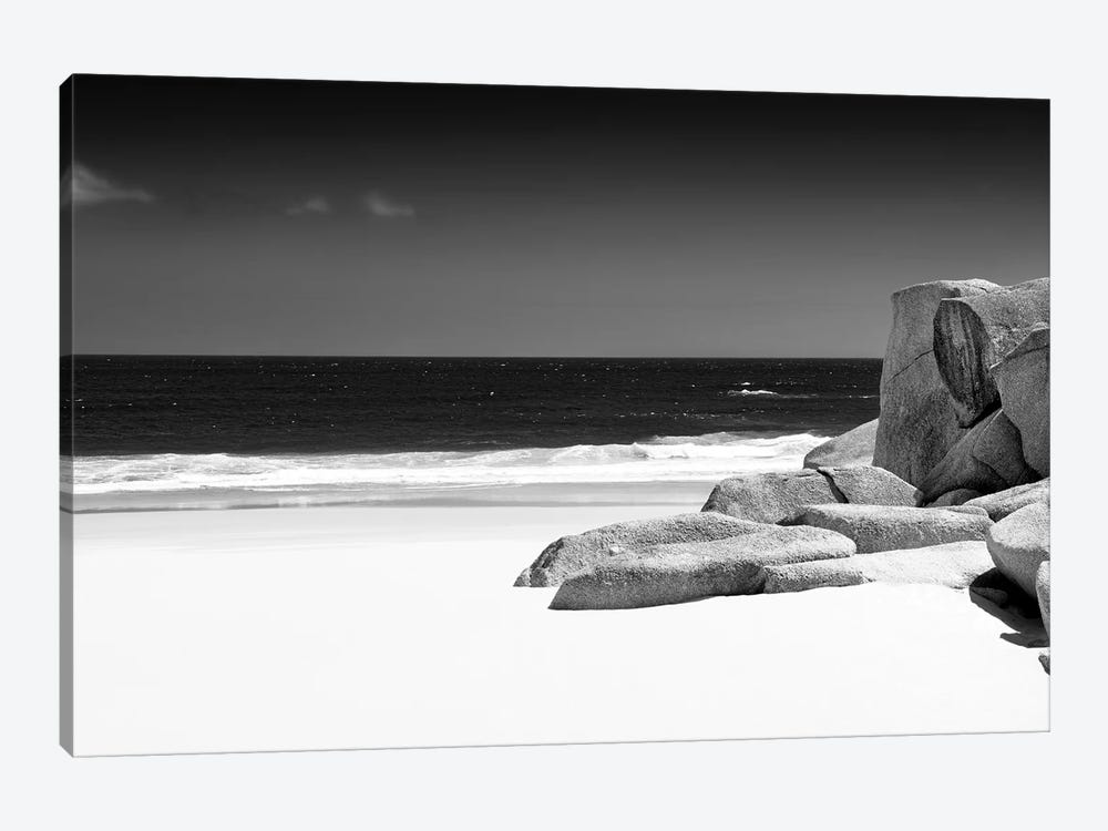 Tranquil White Sand Beach by Philippe Hugonnard 1-piece Canvas Artwork