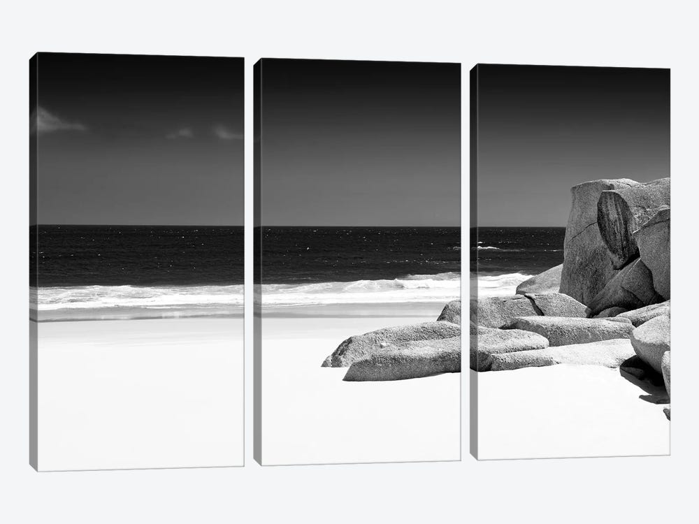 Tranquil White Sand Beach by Philippe Hugonnard 3-piece Canvas Artwork
