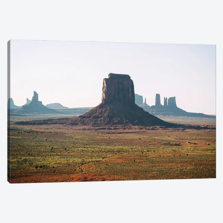 American West - Monument Valley Viii Canvas Print #PHD2154} by Philippe Hugonnard Canvas Wall Art