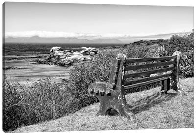Awesome South Africa Series: View Point Bench Canvas Art Print