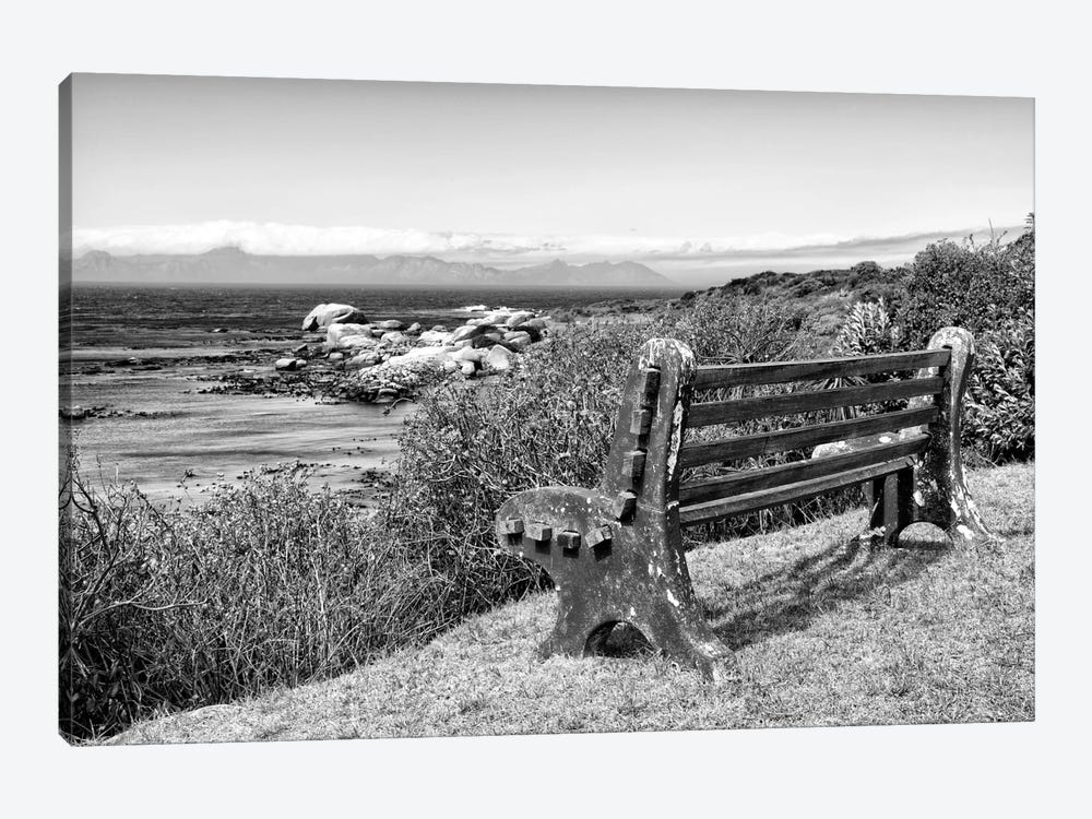 Awesome South Africa Series: View Point Bench by Philippe Hugonnard 1-piece Canvas Art