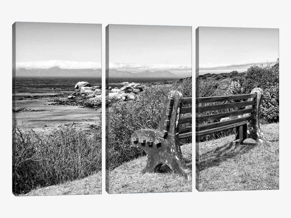 Awesome South Africa Series: View Point Bench by Philippe Hugonnard 3-piece Canvas Art