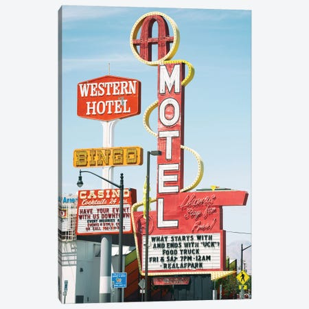 American West - Old Las Vegas Canvas Print #PHD2200} by Philippe Hugonnard Canvas Art Print