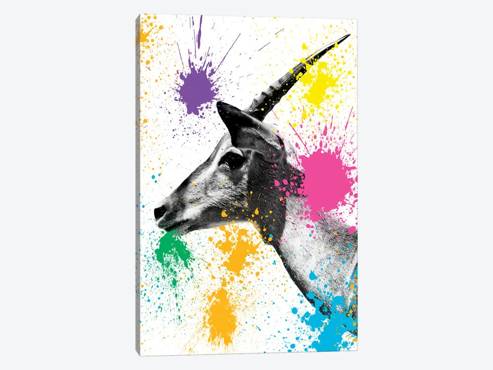 Antelope Profile by Philippe Hugonnard 1-piece Canvas Wall Art