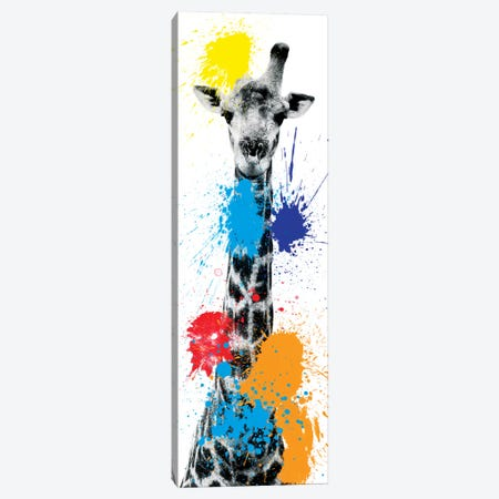 Giraffe V Canvas Print #PHD232} by Philippe Hugonnard Canvas Art Print