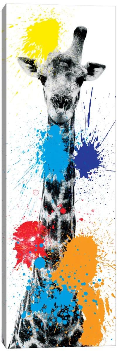 Giraffe V Canvas Art Print