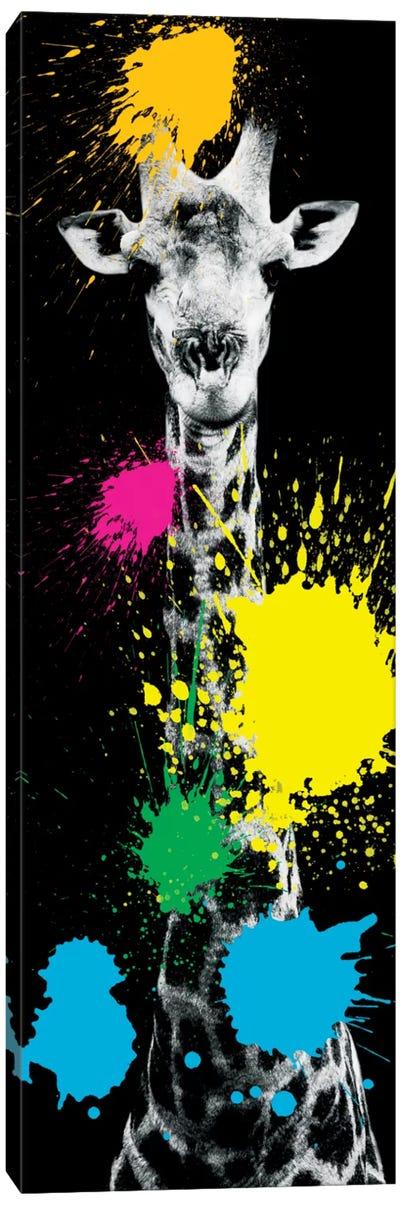 Safari Color Pop Series: Giraffe VI Canvas Print #PHD233