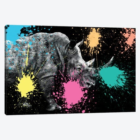 Rhino Portrait VIII Canvas Print #PHD242} by Philippe Hugonnard Canvas Artwork
