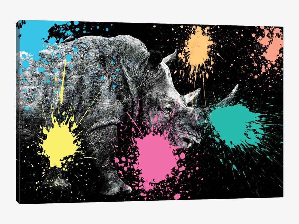 Rhino Portrait VIII by Philippe Hugonnard 1-piece Art Print