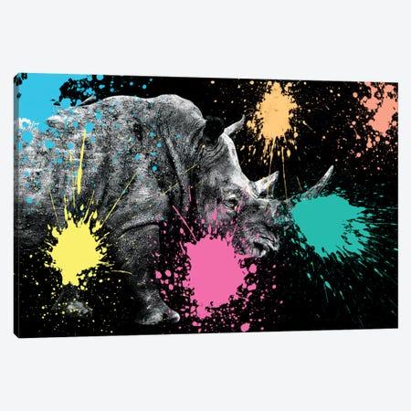 Rhino Portrait VIII Canvas Print #PHD242} by Philippe Hugonnard Canvas Artwork