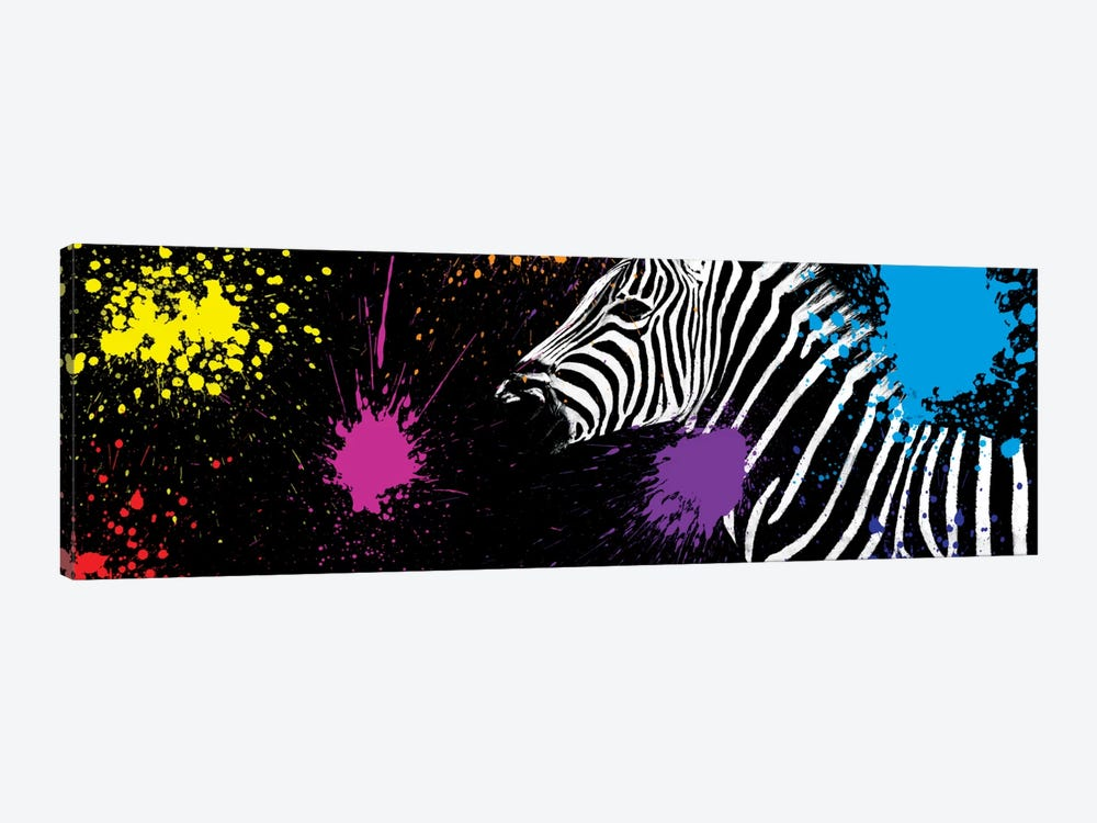 Zebra VI by Philippe Hugonnard 1-piece Canvas Art Print