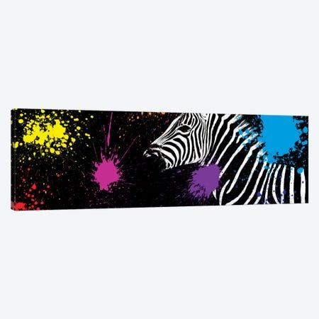 Zebra VI Canvas Print #PHD248} by Philippe Hugonnard Canvas Wall Art