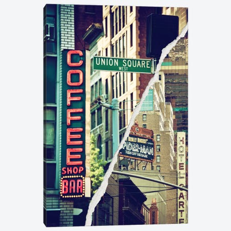 New York Atmosphere Canvas Print #PHD25} by Philippe Hugonnard Art Print
