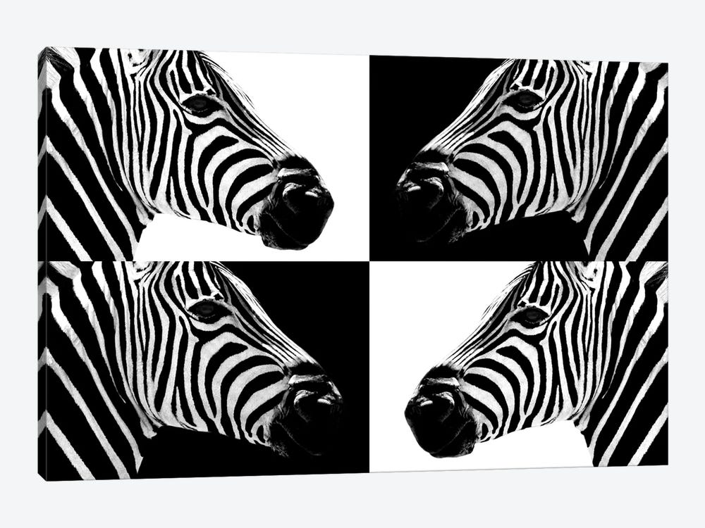 Safari Profile Series: Zebras III by Philippe Hugonnard 1-piece Canvas Artwork