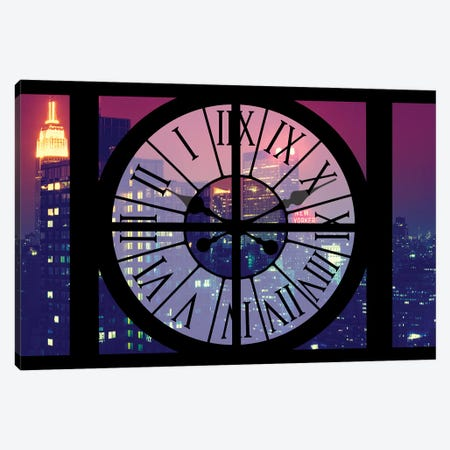Manhattan By Night Canvas Print #PHD265} by Philippe Hugonnard Canvas Art Print