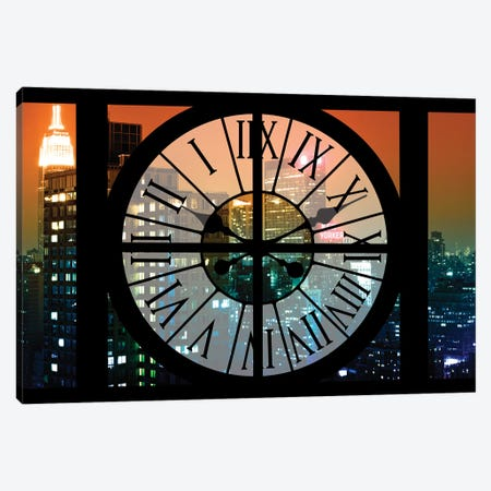 Manhattan Night Canvas Print #PHD266} by Philippe Hugonnard Art Print