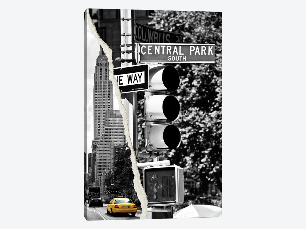 New York City by Philippe Hugonnard 1-piece Canvas Artwork